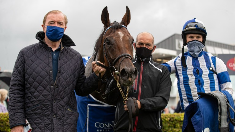 """Dermot Weld (left): """"It was a lovely race to win – it's been a very lucky race for me"""""""