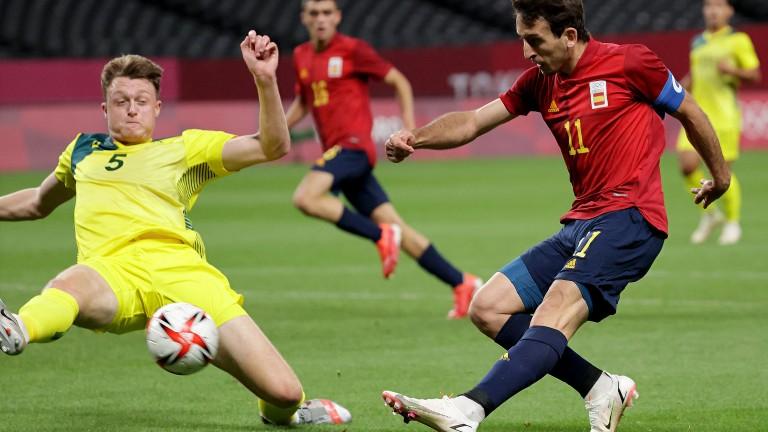 Mikel Oyarzabal scored Spain's winner in their 1-0 win over Australia
