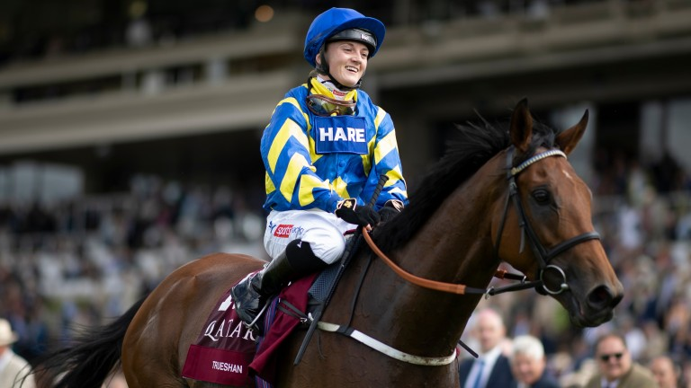 Hollie Doyle: five rides at Sandown on Wednesday, including one in Trueshan's colours