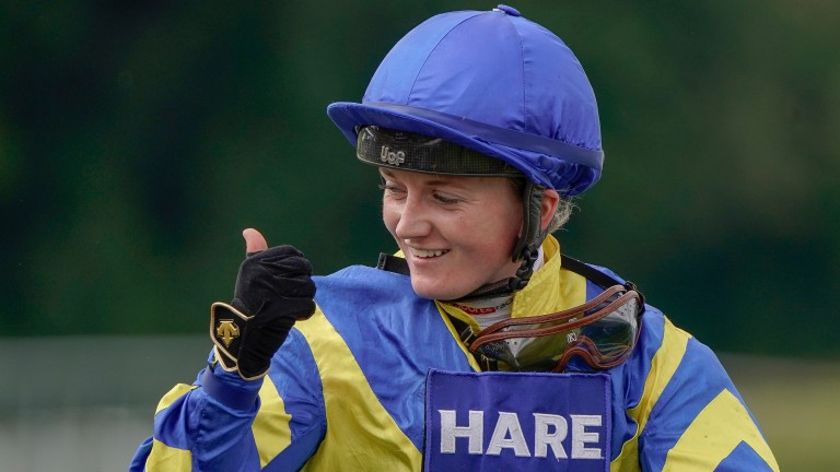 Hollie Doyle: enjoyed a Goodwood hat-trick on Tuesday, headlined by Trueshan's victory