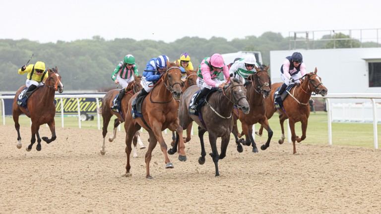 ZEYAADAH (Jim Crowley) wins at NEWCASTLE 25/6/21Photograph by Grossick Racing Photography 0771 046 1723