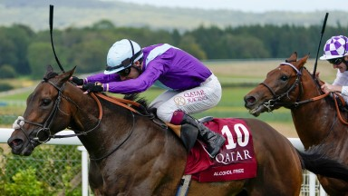 Alcohol Free and Oisin Murphy go clear in the Sussex Stakes