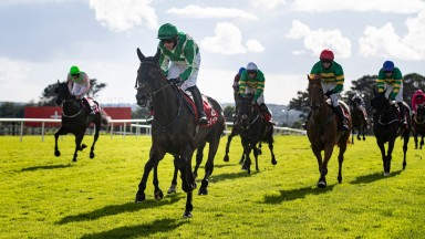 Royal Rendezvous and Paul Townend winners of the Galway Plate. Galway Festival day 3.Photo: Patrick McCann/Racing Post28.07.2021