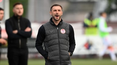 Kelty boss Kevin Thomson has watched his side perform well in the League Cup