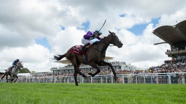 Alcohol Free romps home under Oisin Murphy to land the Sussex Stakes for trainer Andrew Balding