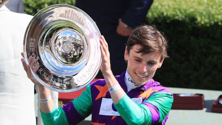 Kieran Shoemark: rides Fresh in the Stewards' Cup