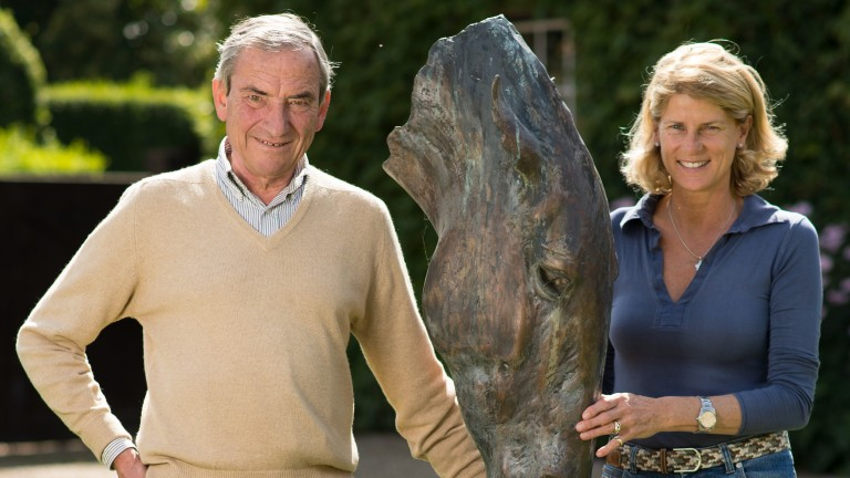 Luca and Sara Cumani: owners of Fittocks Stud in Newmarket