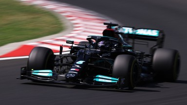 Lewis Hamilton is eight points behind Max Verstappen in the championship