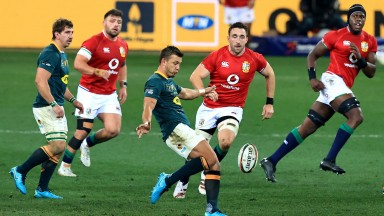 Handre Pollard will need to be more accurate with his kicking if South Africa are to level the series