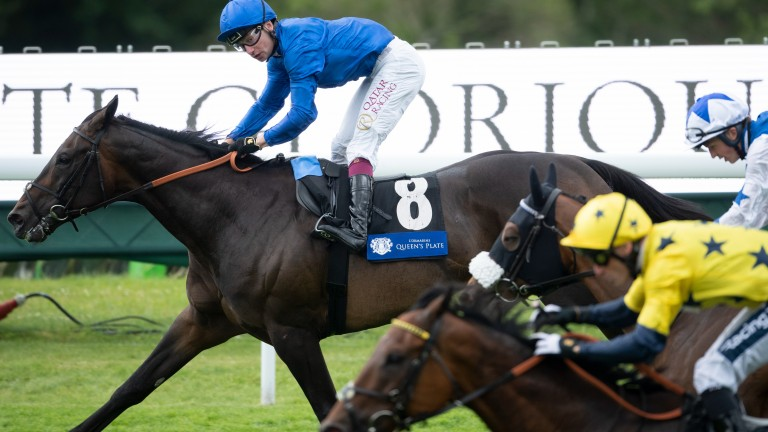 Passion and Glory (Oisin Murphy) wins the L'Ormarins Queen's Plate Glorious StakesGoodwood 29.7.21 Pic: Edward Whitaker