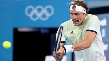 Alexander Zverev upset gold medal favourite Novak Djokovic