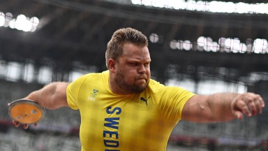 Sweden's Daniel Stahl has been unmatched in the discus this year