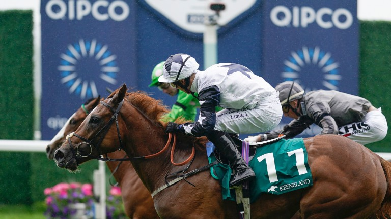 Zain Claudette: stepping up to Group 2 company in the Lowther