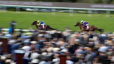 Wonderful Tonight (William Buick) wins the Lillie Langtry StakesGoodwood 31.7.21 Pic: Edward Whitaker