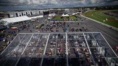 Scene from Plate day. Galway Festival day 3.Photo: Patrick McCann/Racing Post28.07.2021