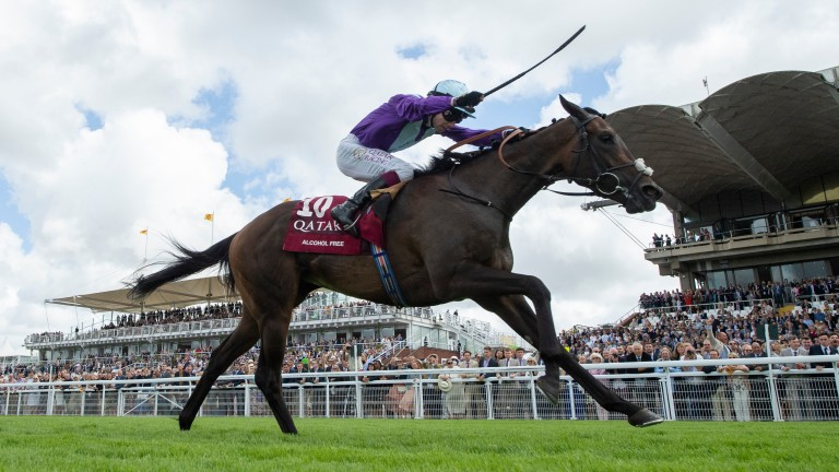 Alcohol Free and Oisin Murphy streak clear in the Group 1 Sussex Stakes
