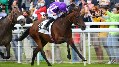 Mother Earth and Ryan Moore come home in front of Sagamiyra to land the Prix Rothschild at Deauville