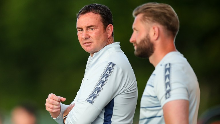 Derek Adams can lead Bradford to the title in League Two