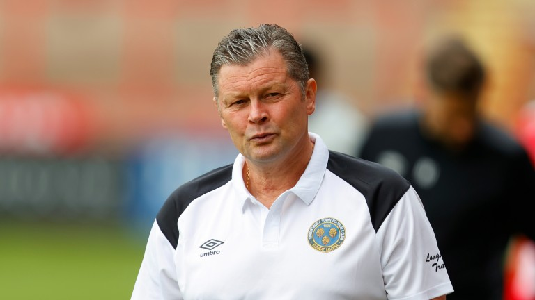 Steve Cotterill has a big job on his hands keeping Shrewsbury out of trouble