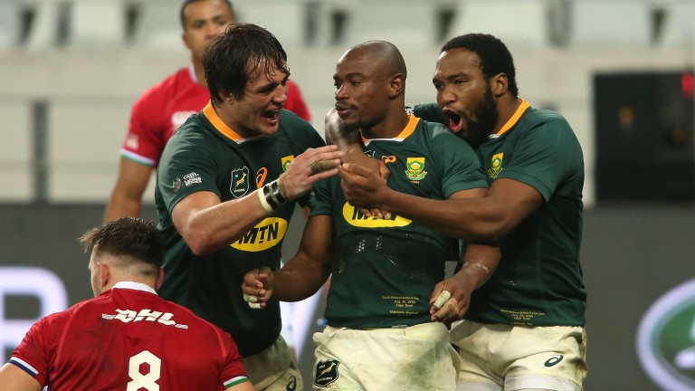 South Africa could be celebrating a victory