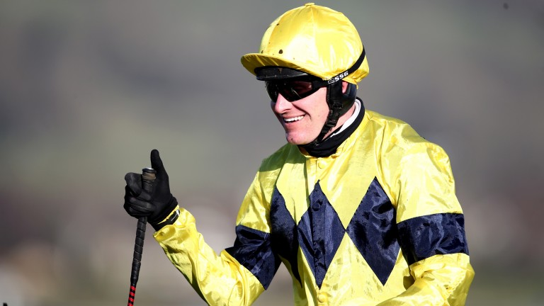 Nick Scholfield: rode Ballyegan Hero to win at Newton Abbot