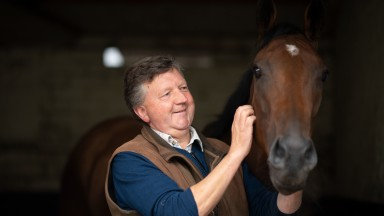 Looking forward to France: Tim Easterby advises Winter Power of her likely next target, the Prix de l'Abbaye