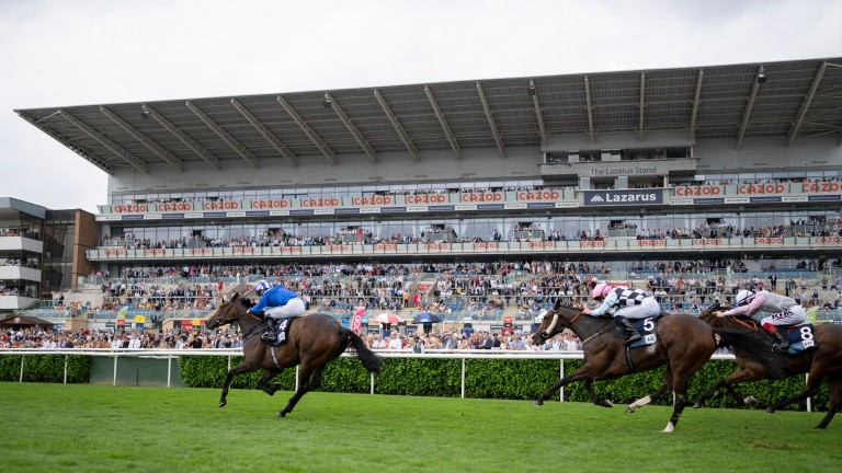 Allayaali sweeps clear of her rivals in style