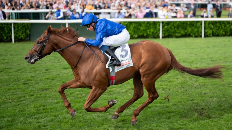 Hurricane Lane and William Buick secure a wide-margin St Leger triumph at Doncaster