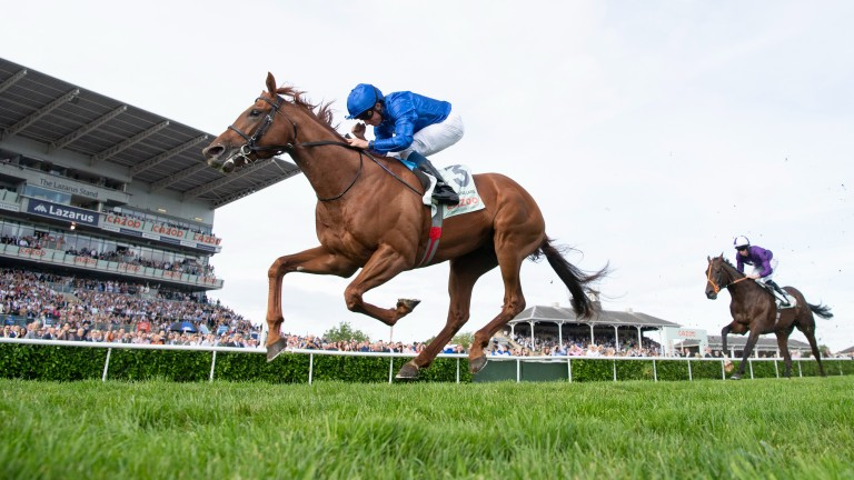 Hurricane Lane storms home in the St Leger
