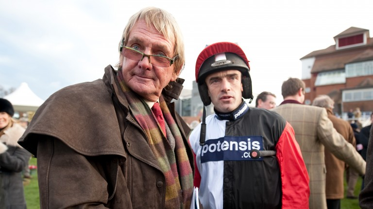 Andy Stewart and Ruby Walsh teamed up during the glory days of top hurdler Big Buck's