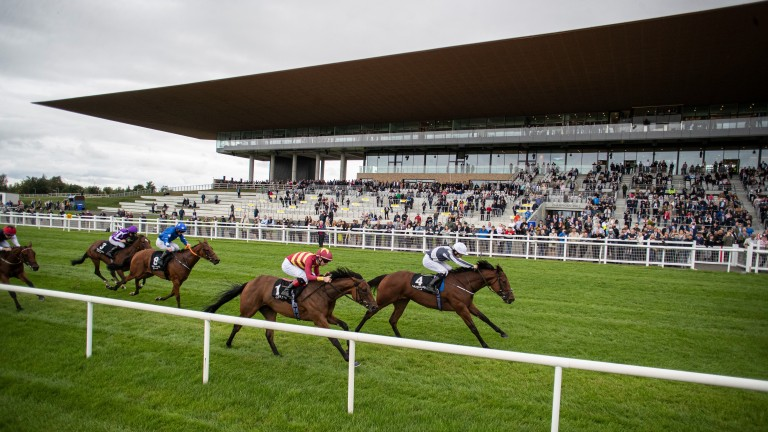 Moyglare Stud Stakes: scheduled for 3.30 last Sunday - the same time as the Qatar Prix Foy at Longchamp