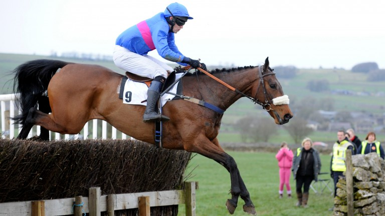 Former point-to-point rider Richard Burton secured the second top lot