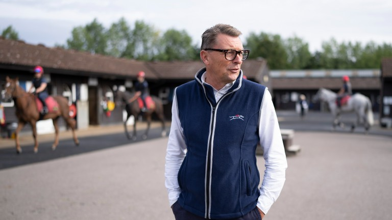 'The horses are invaluable because without them we couldn't do this': Grant Harris, CEO of the British Racing School