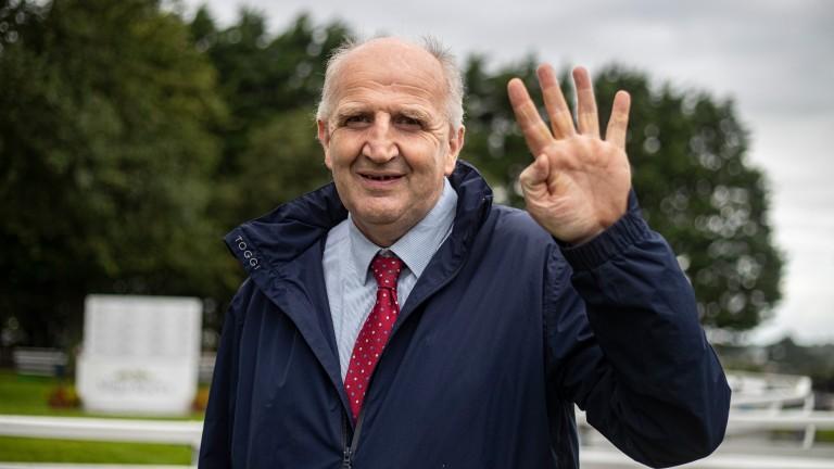 John Ryan: recorded first four-timer of his career at Sligo on Wednesday