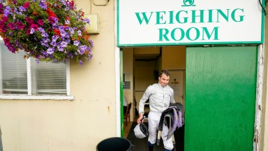William Buick at Yarmouth Racecourse  (Photo by Alan Crowhurst/Getty Images)