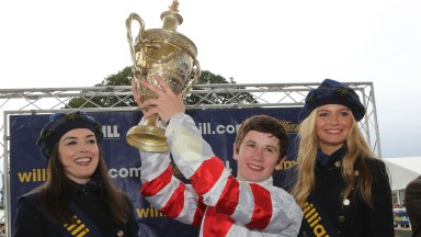 Oisin Murphy has come along way since his win in the Ayr Gold Cup in 2013
