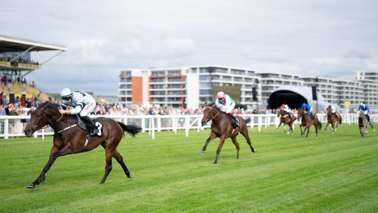 Zechariah and Tom Marquand stretch clear to give trainer Martyn Meade a welcome winner