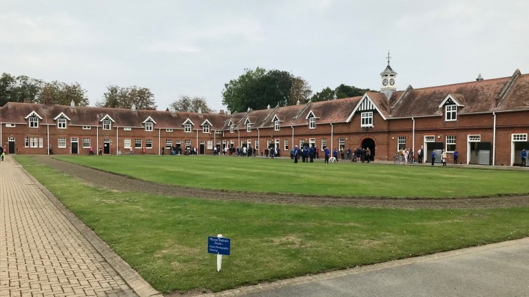 The stunning Godolphin Stables home of Saeed bin Suroor