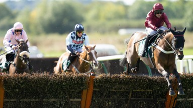 First Street: an eight-and-a-half length winner of the 2m5f novice hurdle