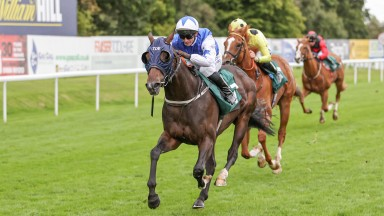 Under Fox: completed a treble for David Allan and Tim Easterby