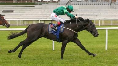 Curragh Wed 2 June 2021 - Dr Zempf ridden by Colin Keane winning The Irish Stallion Farms EBF Race
