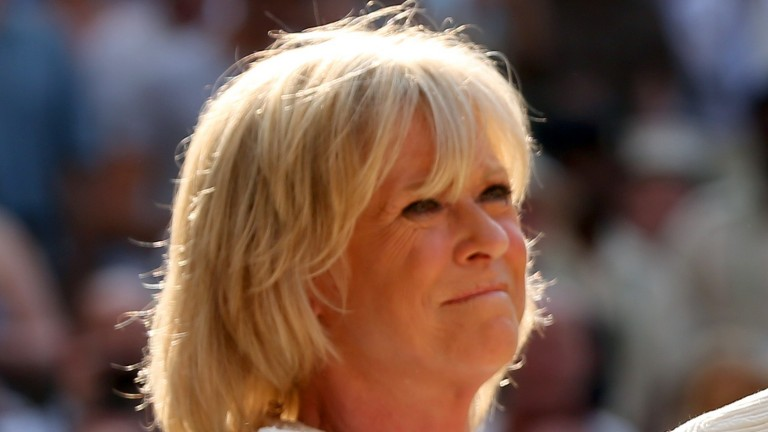 Sue Barker was presenting the BBC's Ascot coverage on September 28, 1996