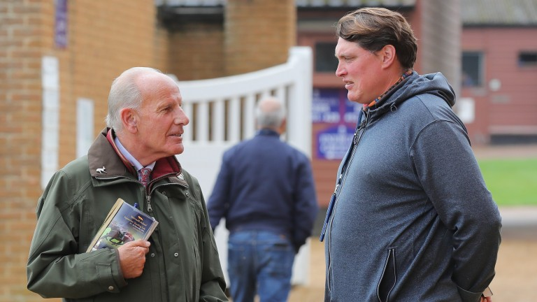 A meeting of minds between Sir Mark Prescott and David Easterby