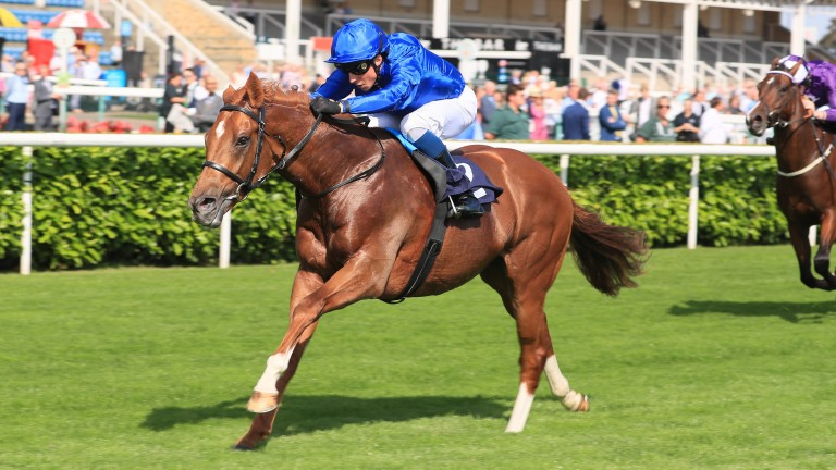 Modern Games and William Buick win at Doncaster