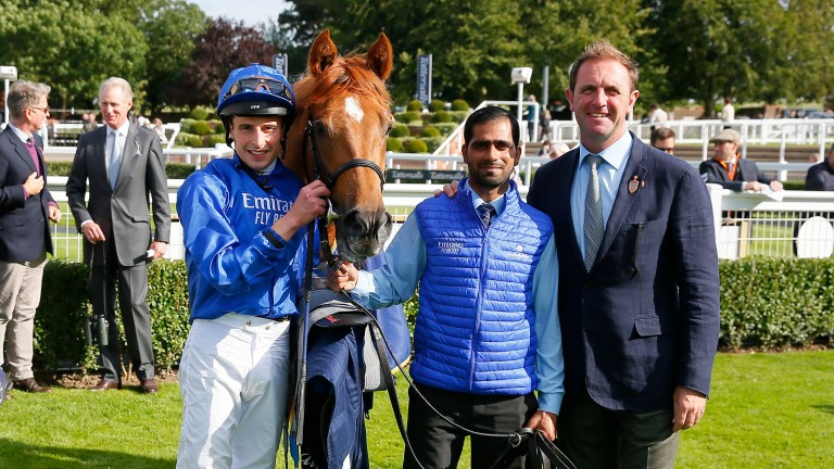 Modern Games: winner in his Group debut for Godolphin and Charlie Appleby