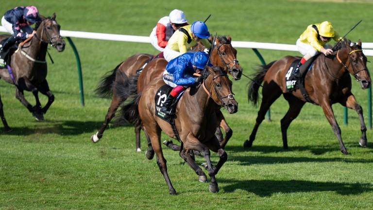 Soft Whisper: landed the Rosemary Stakes under Frankie Dettori
