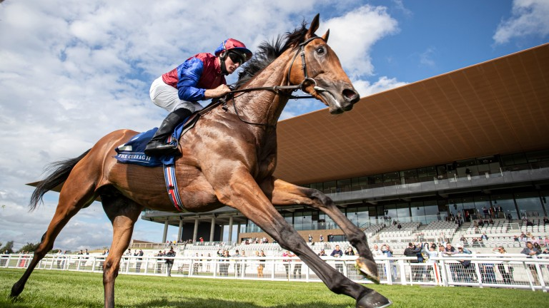 Luxembourg wins the Beresford Stakes under Seamie Heffernan at the Curragh on Saturday