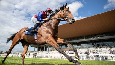 Luxembourg and Seamie Heffernan wins the Beresford Stakes (Group 2)The Curragh Racecourse.Photo: Patrick McCann/Racing Post25.09.2021