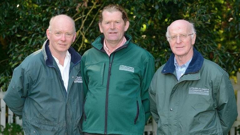 Julian Lloyd, Paddy Moloney and John Oxx