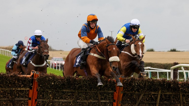 Mitchell Bastyan strikes on Sergeant, who was the second leg of a double for the jockey